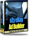 Product picture eZy eBay Ad Builder - Master Resell Rights